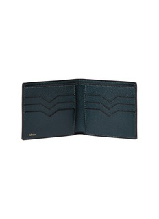 Valextra Leather bifold wallet – Valextra Green