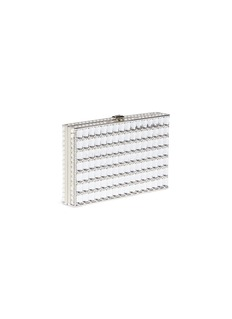 Judith Leiber 'Sideways' crystal clutch
