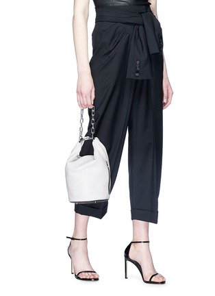 Figure View - Click To Enlarge - ALEXANDERWANG - 'Attica' leather dry sack