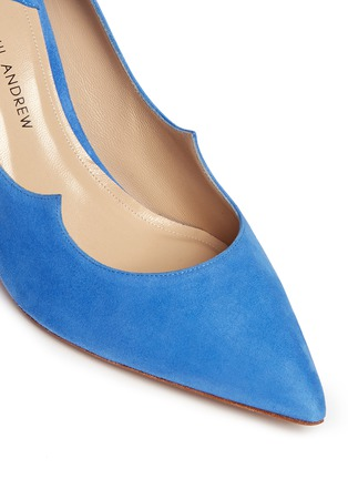 Detail View - Click To Enlarge - Paul Andrew - 'Kimura' suede pumps