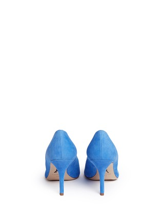Back View - Click To Enlarge - Paul Andrew - 'Kimura' suede pumps