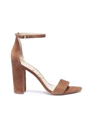 Main View - Click To Enlarge - Sam Edelman - 'Yaro' suede sandals