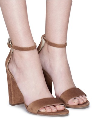 Figure View - Click To Enlarge - SAM EDELMAN - 'Yaro' suede sandals