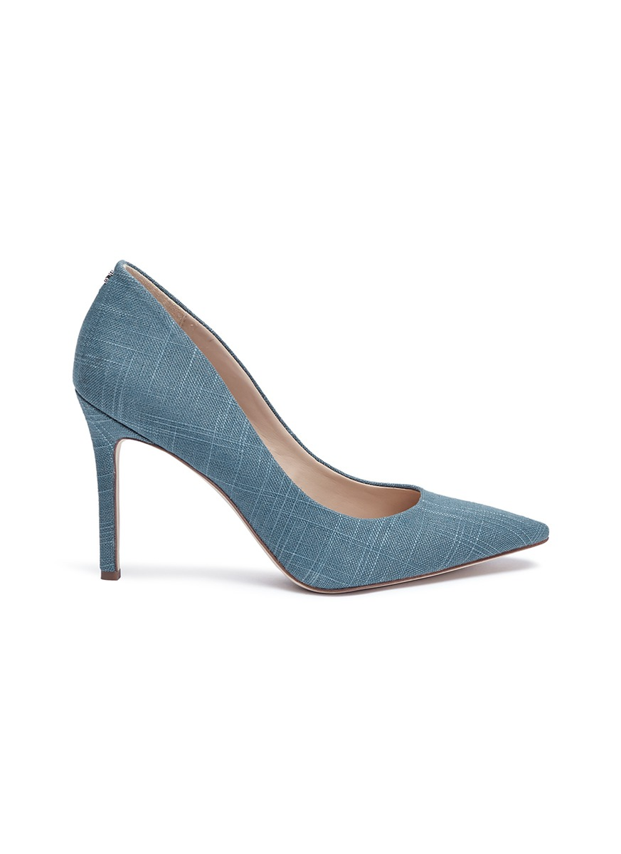 Hazel linen pumps by Sam Edelman