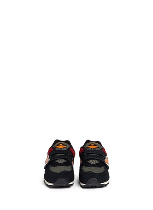 Figure View - Click To Enlarge - New Balance - '574' strap suede toddler sneakers