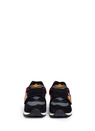 Figure View - Click To Enlarge - New Balance - '574' strap suede kids sneakers