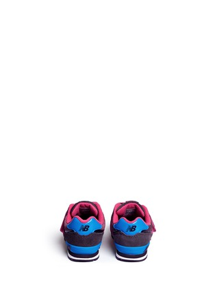 Back View - Click To Enlarge - New Balance - '574' suede mesh toddler sneakers
