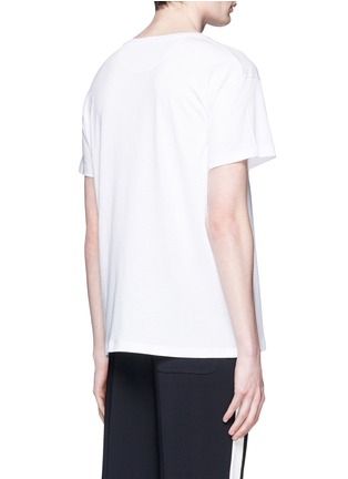 Back View - Click To Enlarge - Valentino - 'Super-H' Batman print T-shirt