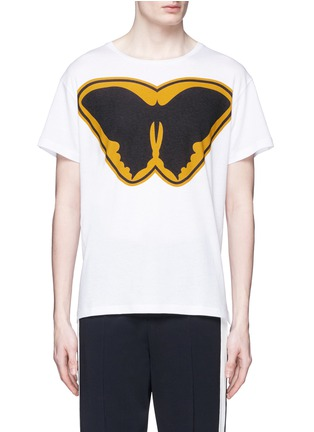 Main View - Click To Enlarge - Valentino - 'Super-H' Batman print T-shirt
