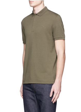 Front View - Click To Enlarge - Valentino - Rockstud polo shirt