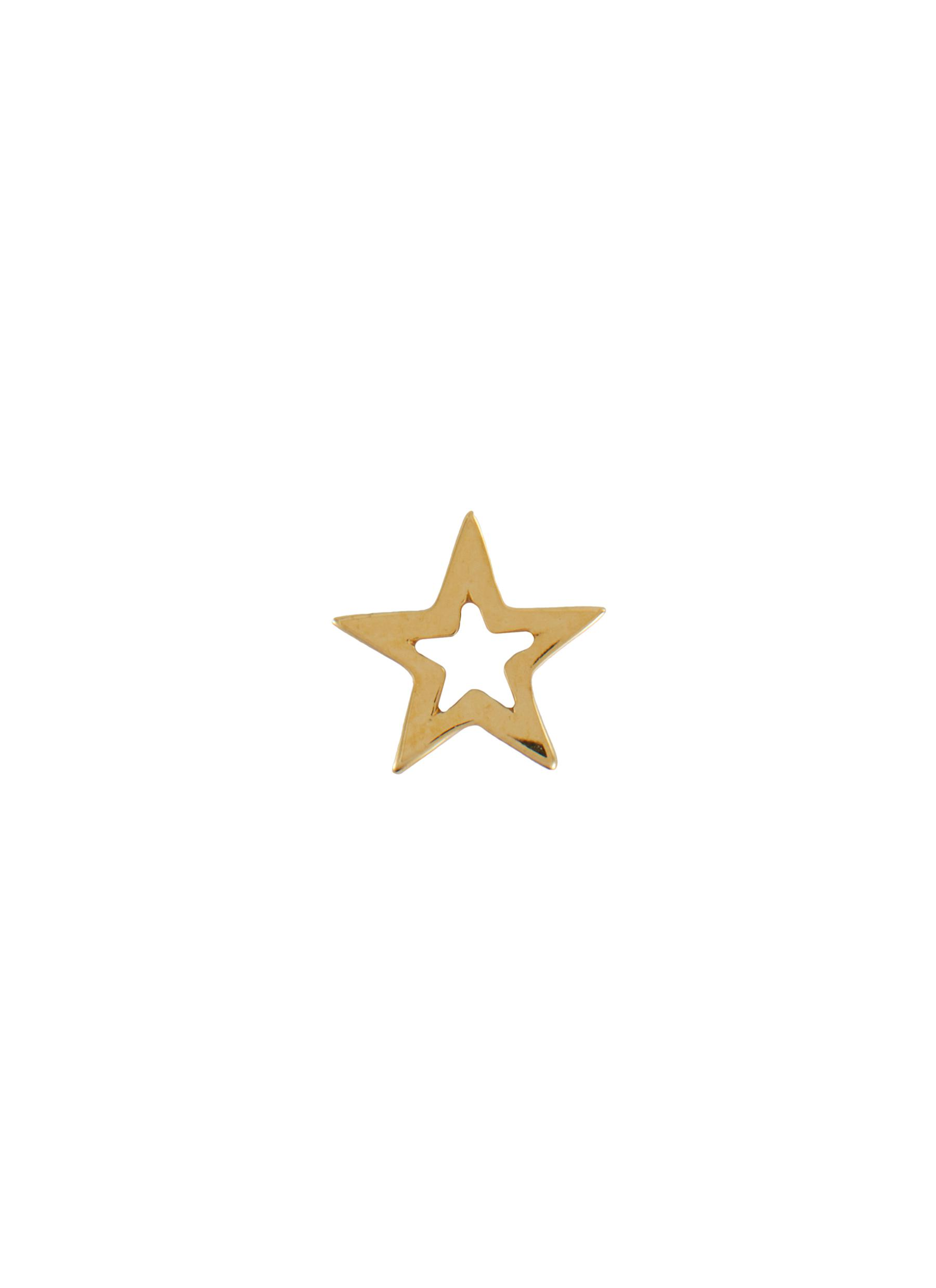 'Star' 18k Gold Charm