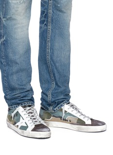 Golden Goose 'Superstar' camouflage print canvas sneakers