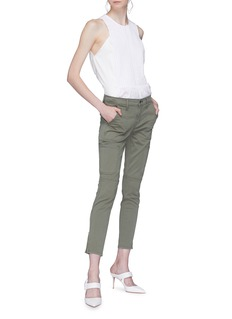 J Brand 'Skinny Utility' zip cuff twill pants
