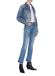 R13 'Caddy' flared cuff jeans