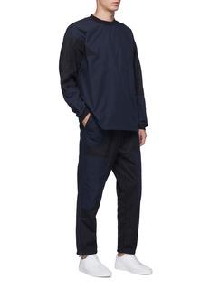 Adidas 'NMD' windowpane check panel track pants