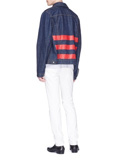 Helmut Lang Stripe denim jacket