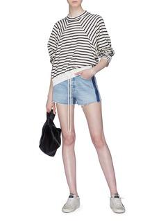 bassike Stripe wool-cotton sweatshirt