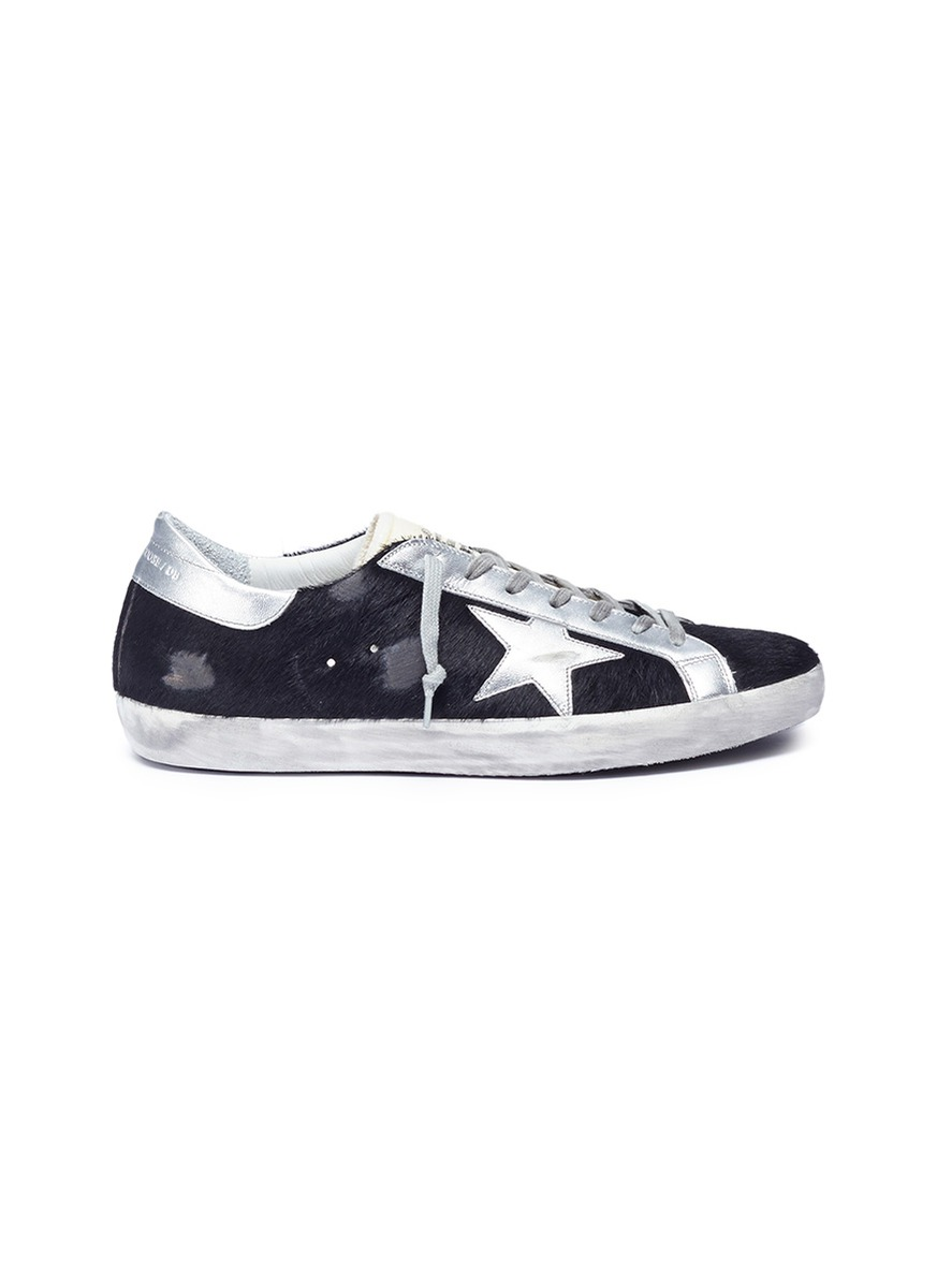 SUPERSTAR FAUX FUR SNEAKERS by Golden Goose
