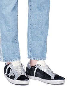 Golden Goose 'SUPERSTAR' FAUX FUR SNEAKERS