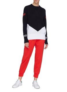 P.E Nation 'Game Play' colourblock sweater