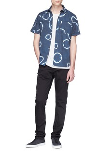 DENHAM 'Ford' tie-dye effect shirt