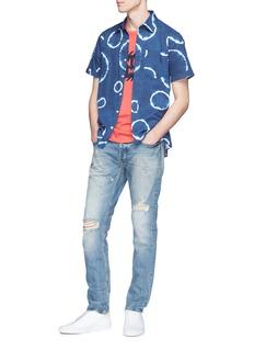DENHAM 'Razor' ripped slim fit denim jeans