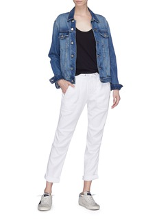 James Perse Roll cuff twill utility pants