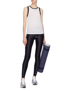 Koral 'Ethereal' pleated piped outseam performance leggings