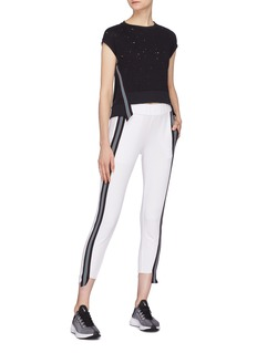Koral 'Blake' extended stripe outseam track pants