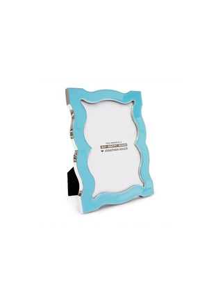 Main View - Click To Enlarge - JONATHAN ADLER - QUEEN ANNE ENAMEL 5R PHOTO FRAME