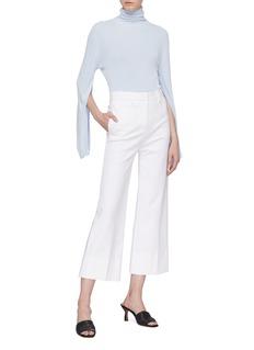 KHAITE 'Clarice' split sleeve turtleneck sweater
