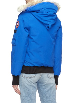 Back View - Click To Enlarge - CANADA GOOSE - 'PBI Chilliwack' down bomber jacket