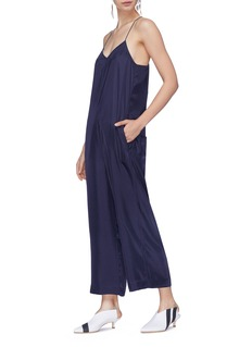 Tibi 'Mendini' twill wideleg jumpsuit