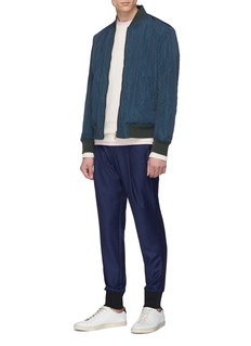 Paul Smith Wool houndstooth jogging pants