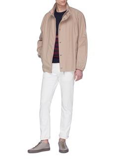 Paul Smith Colourblock sleeve stripe sweater