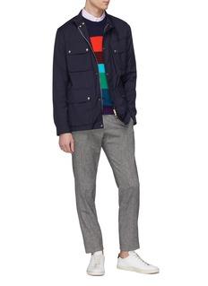 Paul Smith Belted Loro Piana® wool shirt jacket