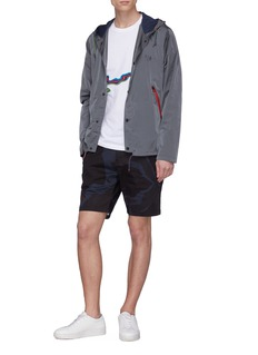 PS by Paul Smith Camouflage print twill shorts
