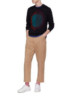 PS by Paul Smith 'Paint Spot' intarsia sweater