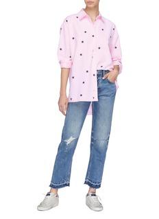 Current/Elliott 'The Mira' star print shirt