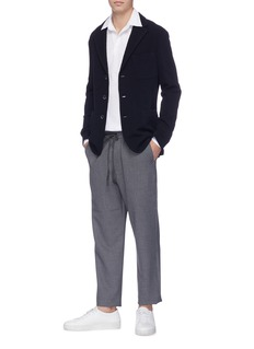 Barena 'Torceo Portoro' textured knit soft blazer