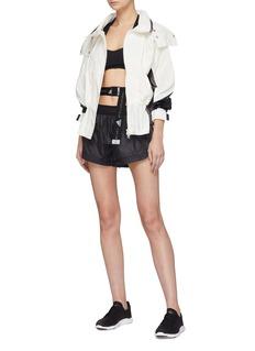 Adidas By Stella Mccartney Geometric print running shorts