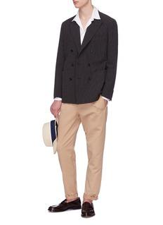 Camoshita Stripe seersucker blazer