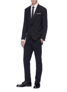 Neil Barrett Shawl lapel tuxedo blazer