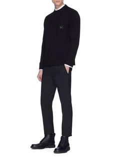 Neil Barrett Piercing neoprene sweatshirt