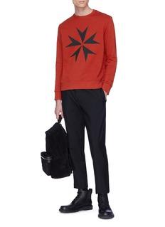 Neil Barrett Geometric print sweatshirt
