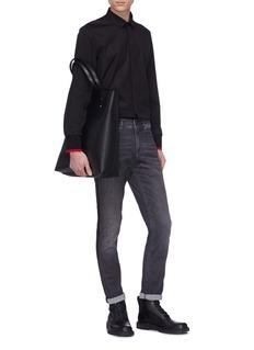 Neil Barrett Stripe outseam skinny jeans