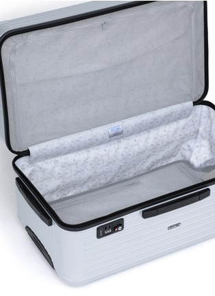 Detail View - Click To Enlarge - RIMOWA - Salsa Sport Multiwheel® 75 (Classic Silver, 87-litre)