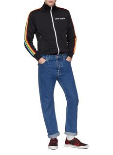 Palm Angels Rainbow stripe sleeve track jacket