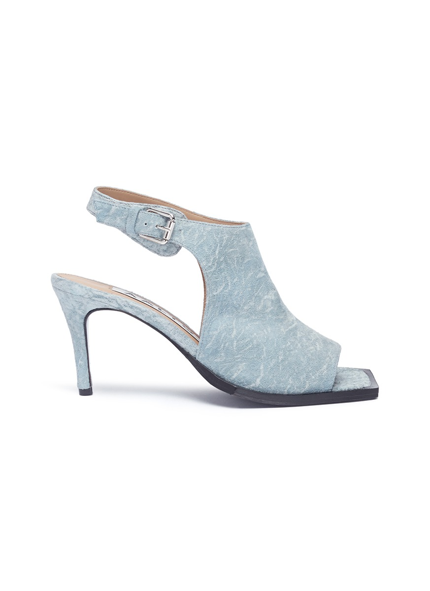Photo of Suede slingback sandals by Aalto womens shoes - buy Aalto footwear online