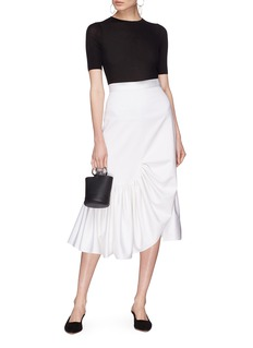 Rosetta Getty Asymmetric mermaid skirt